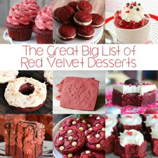 The Great Big List of Red Velvet Desserts