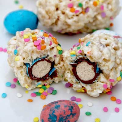 Krispy Confetti Eggs from Bitz & Giggles