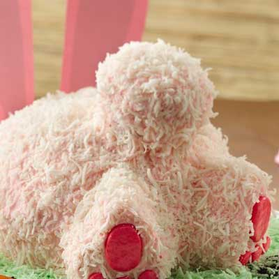 Bunny Butt Cake from Betty Crocker