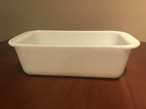 Opal Loaf Pan #213, mid-1970s+