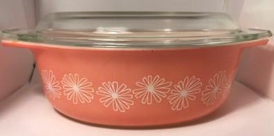 Pink Daisy Casserole #043 (1956-1962)