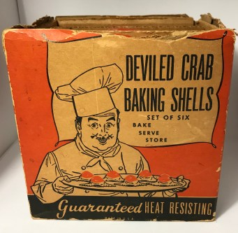 McKee Deviled Crab Baking Shells
