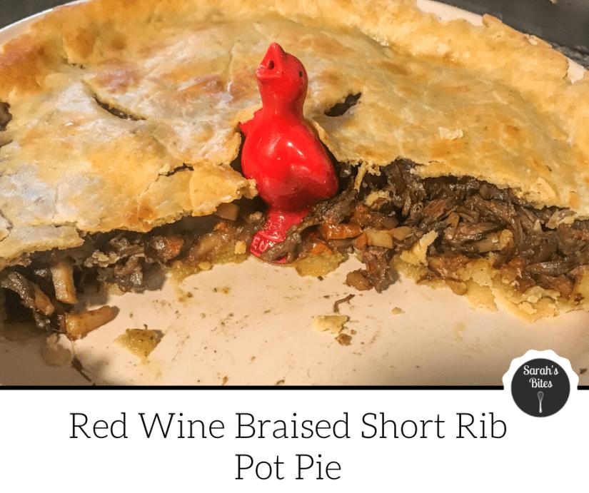 Red wine braised short ribs