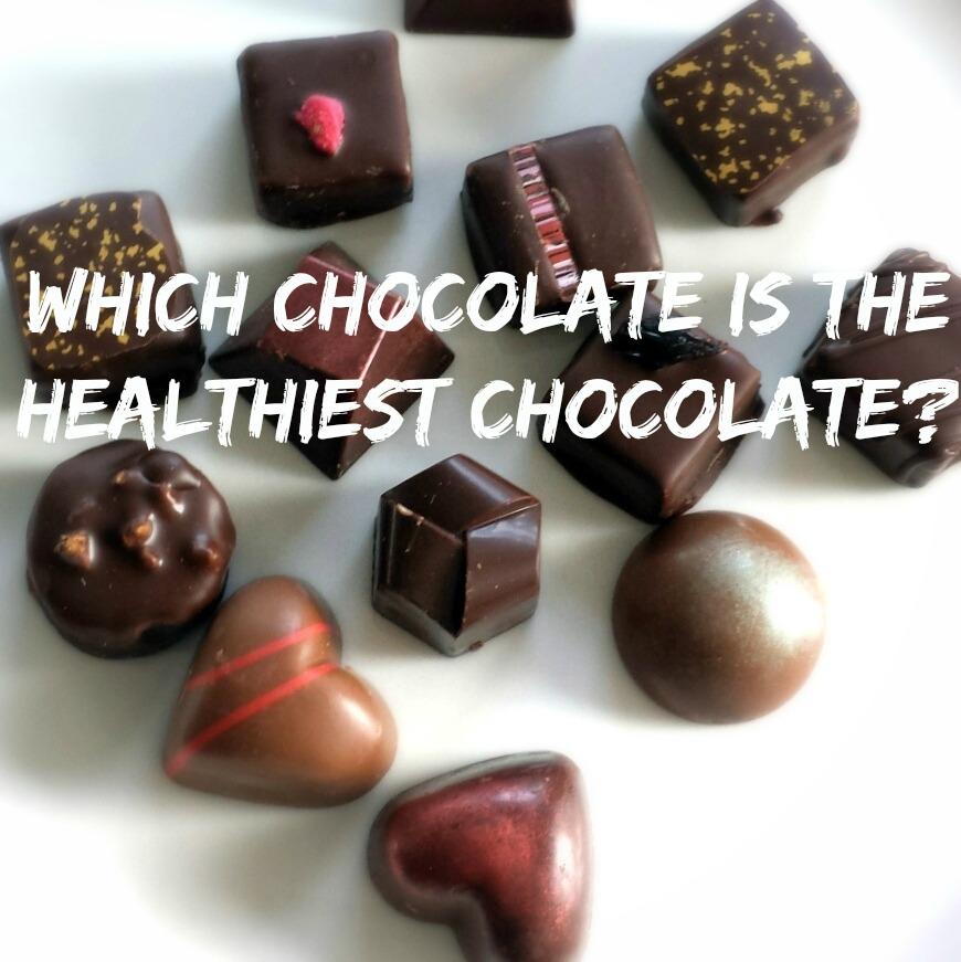the healthiest chocolate