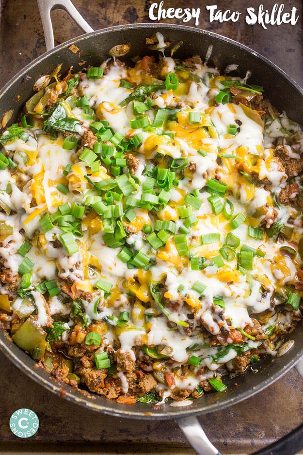 Cheesy Taco Skillet