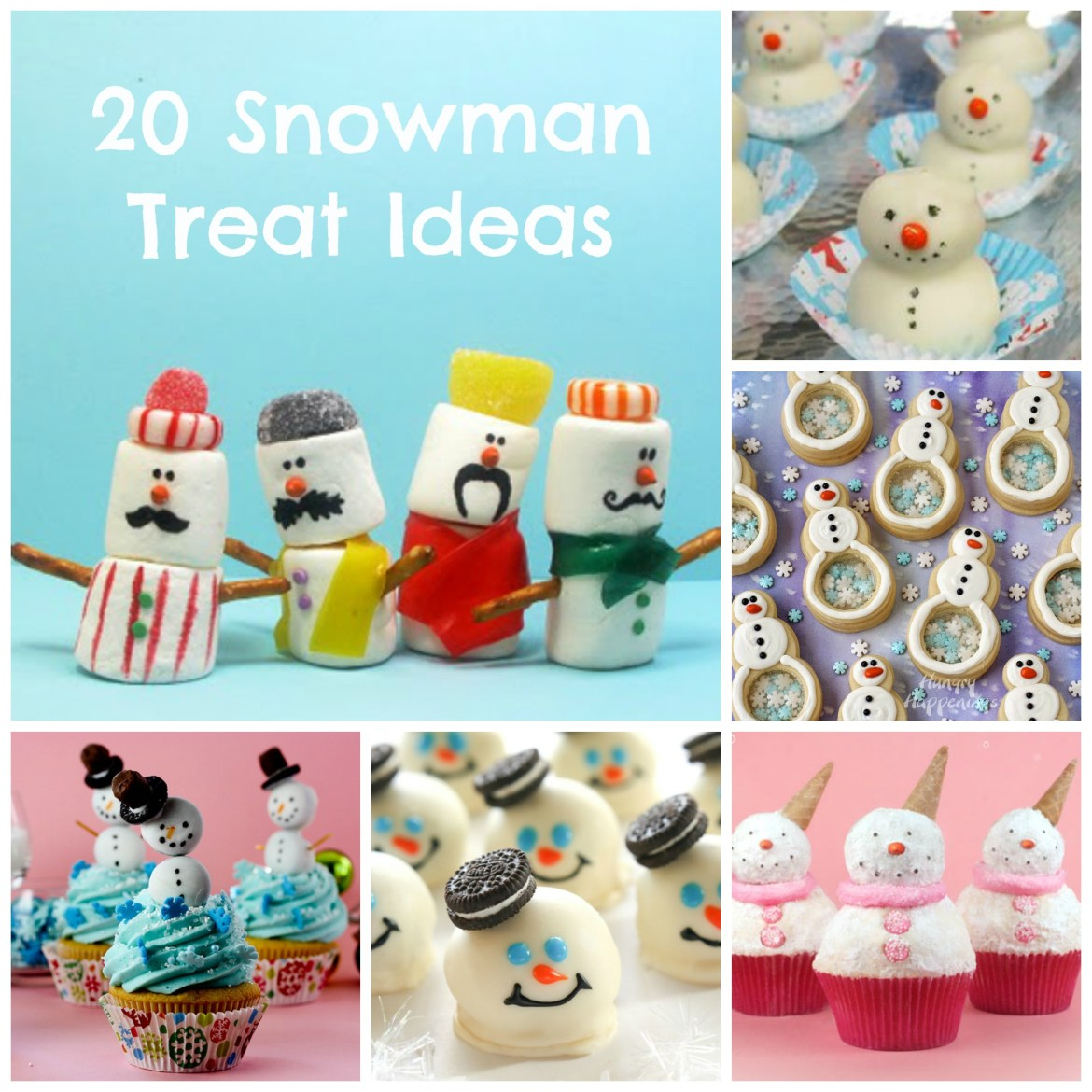 Snowman Treat Ideas