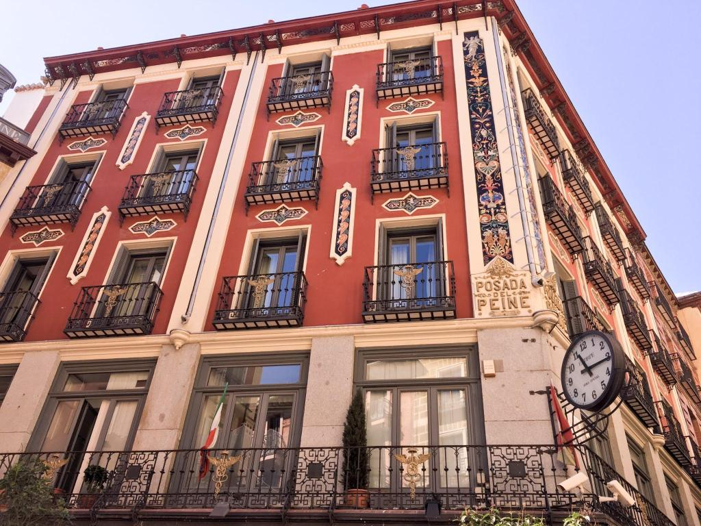 Favourite places Madrid building