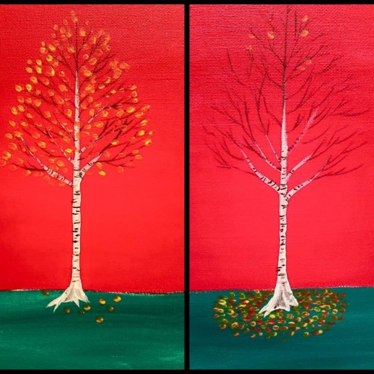 Yin Yan trees