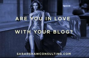 are you in love with your blog