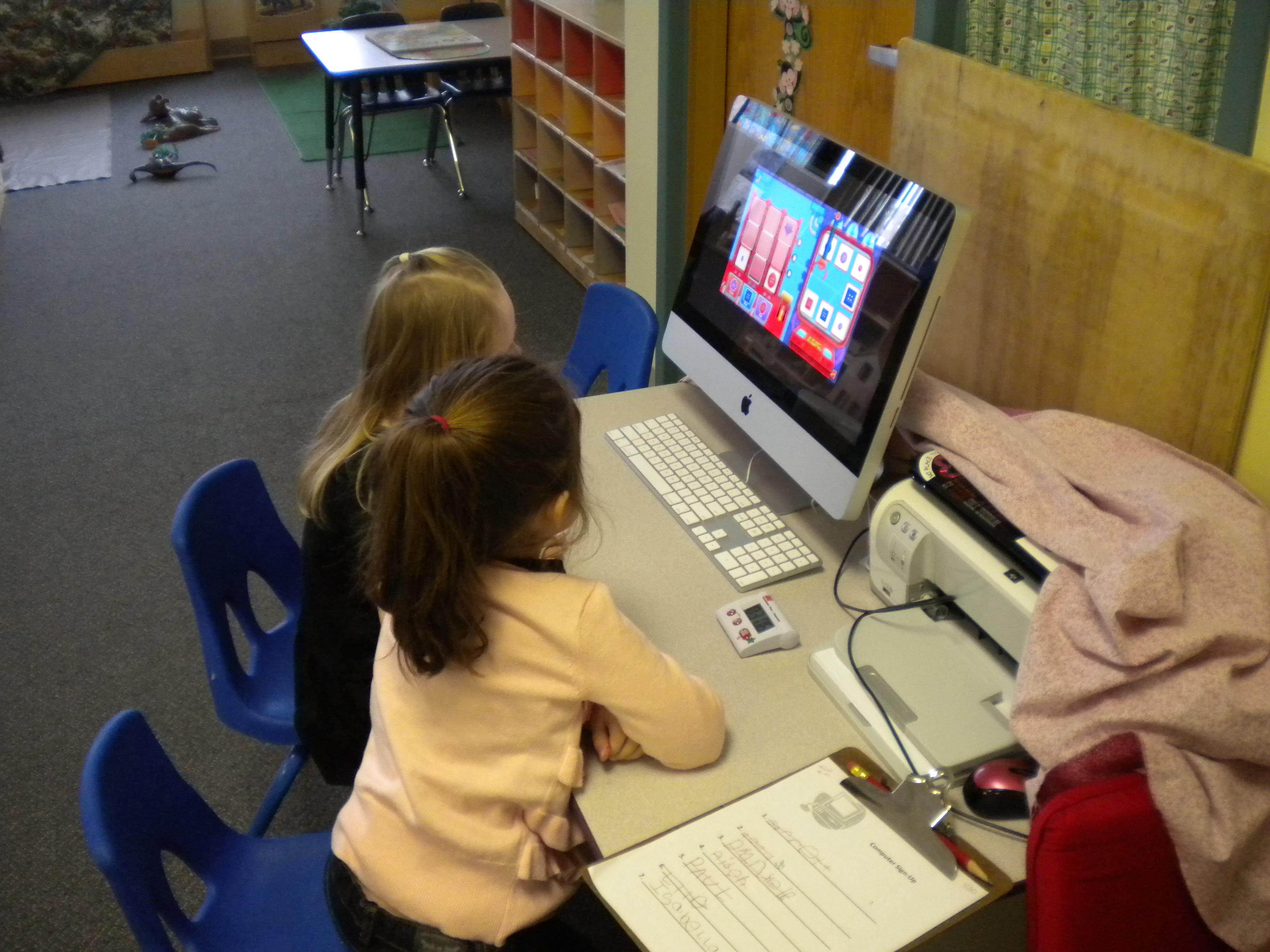Kids And Computers In Preschool