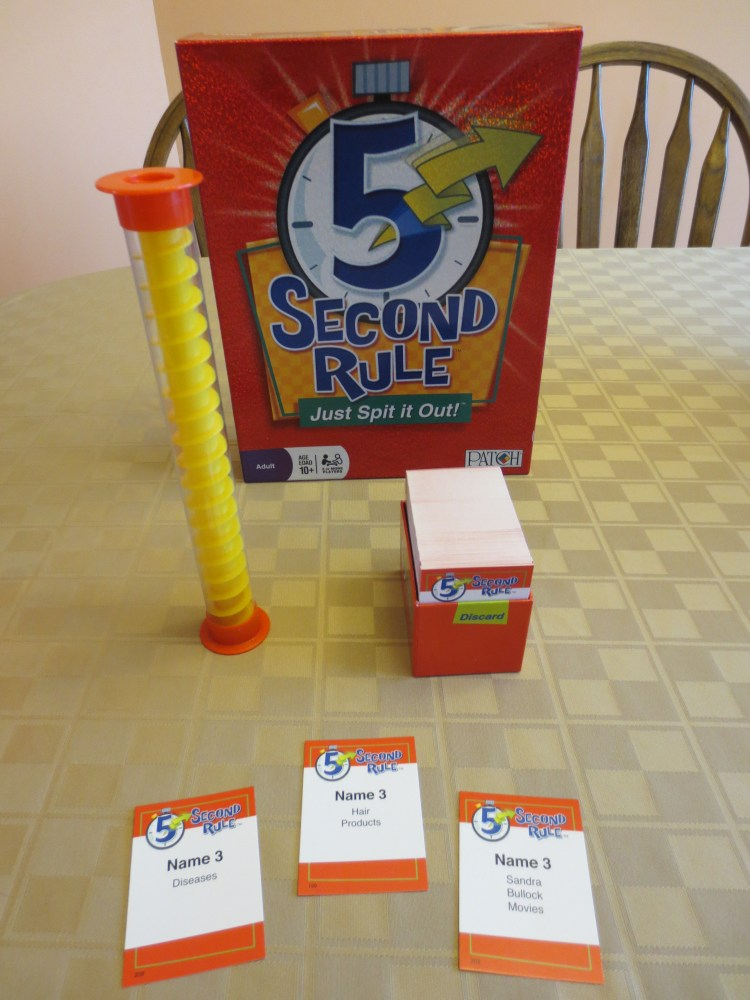 Game Review - 5 Second Rule