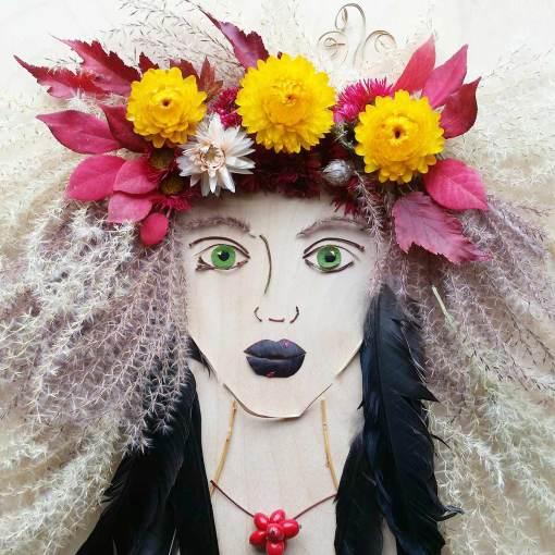 Freya (Feather girl)