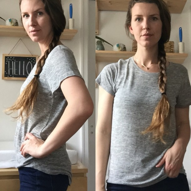 Stitch Fix Review Market & Spruce Sam Hi-Lo Short Sleeve Tee