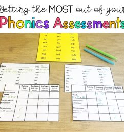 Phonics Assessments - Sarah's Teaching Snippets [ 1024 x 1024 Pixel ]