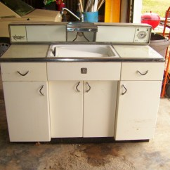Metal Kitchen Cabinets For Sale Aid Hand Held Mixer Retro At Home In Kansas City