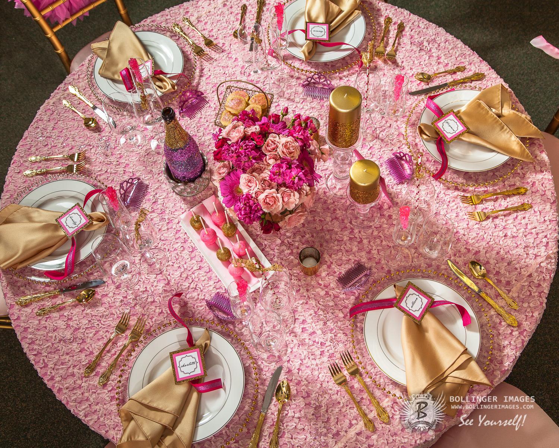 Pink  Gold GLAM Bridal Shower
