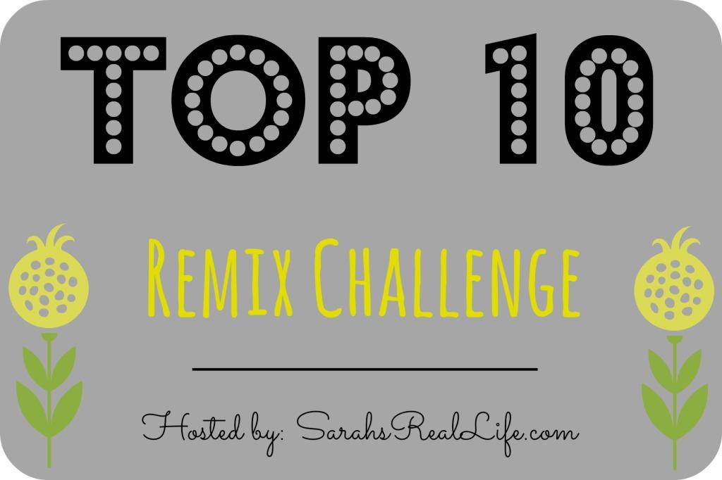 Sarah's Real LIfe - Top 10 remix challenge logo