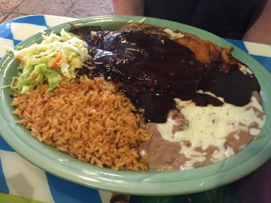 Mole at Taqueria La Hacienda, Sonoma, California