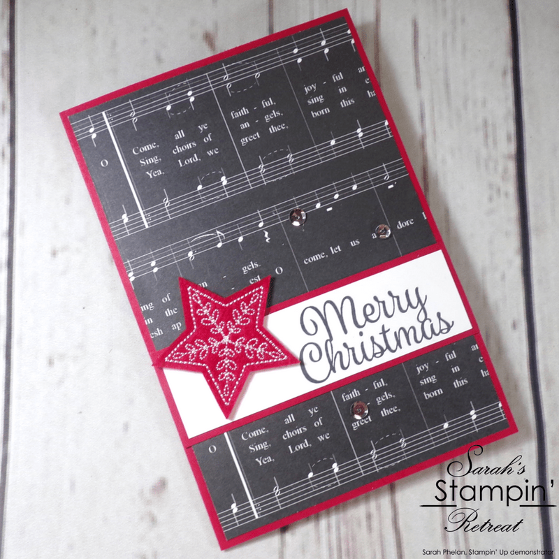 Merry Music Handmade Christmas Card