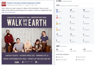 Walk off the Earth Release FB