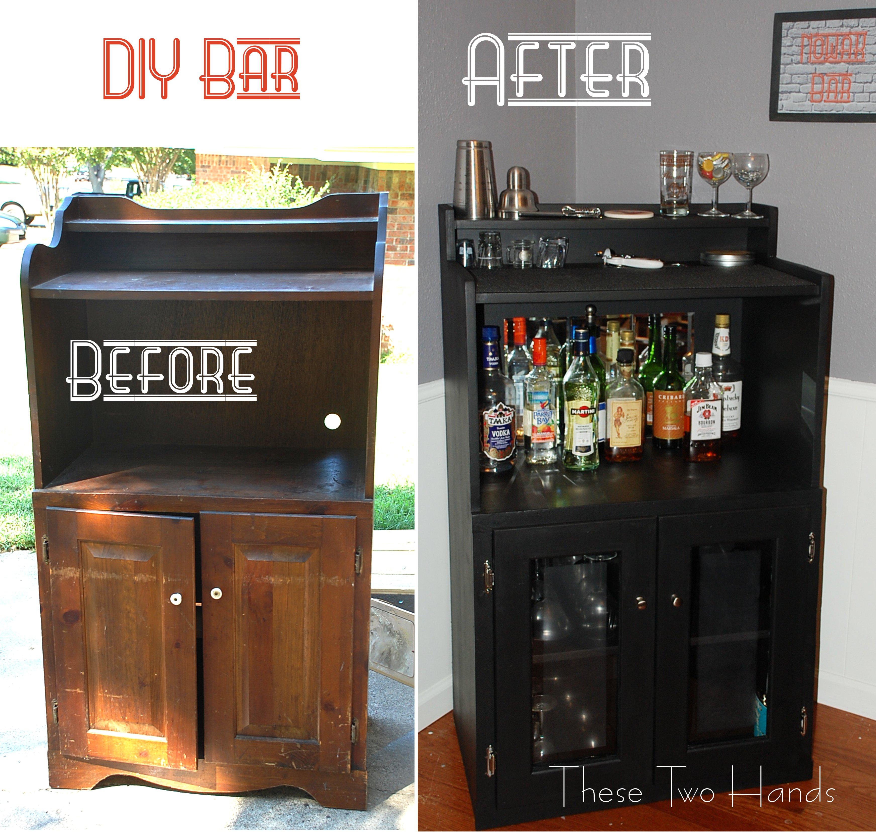 Woodworking Diy bar cabinet ideas Plans PDF Download Free