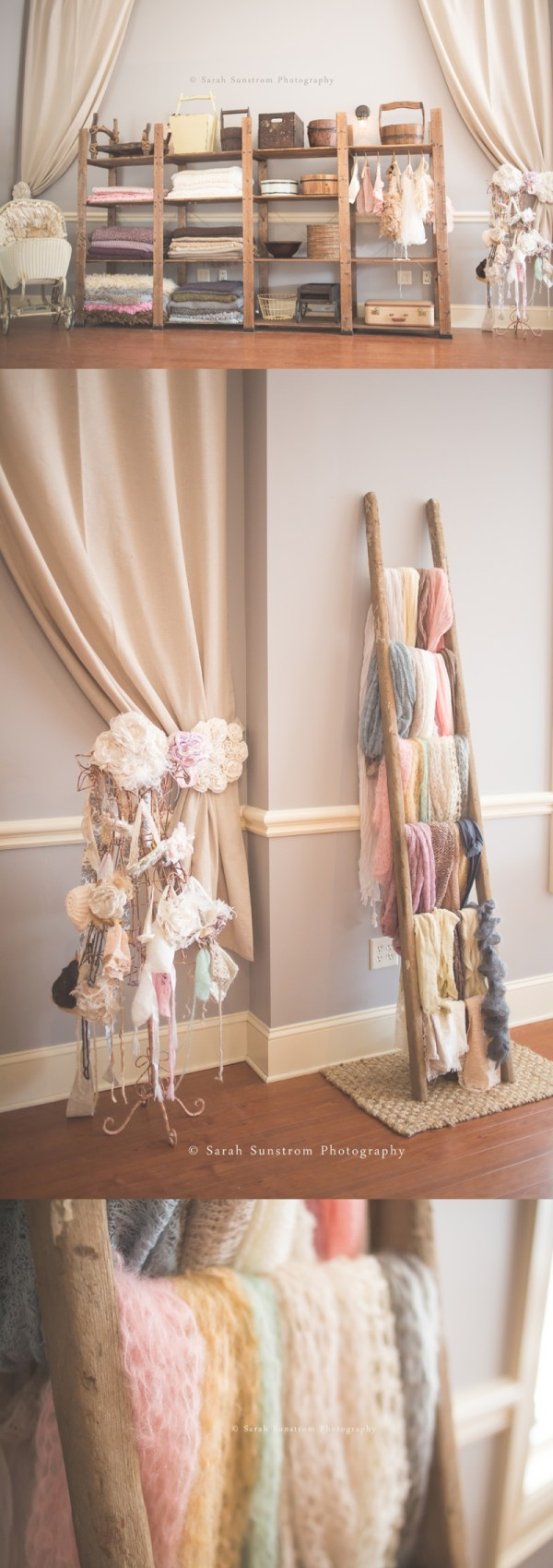 Blanket Scarf Display Boutique