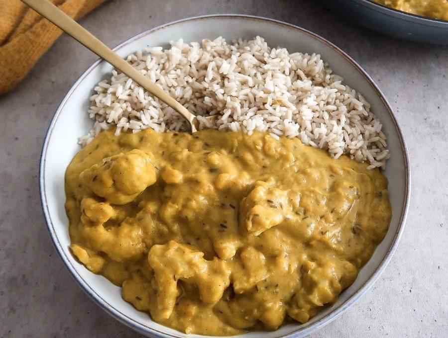 Pumpkin Coconut Curry (vegan, oil-free)
