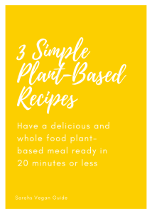 3 simple recipes