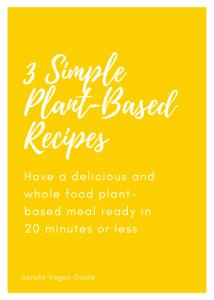 3 simple recipes