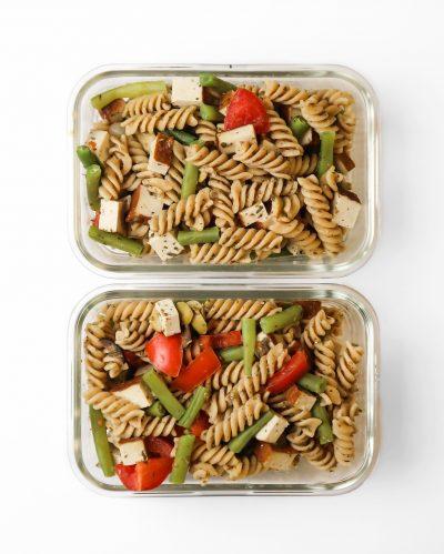 smoked-tofu-pasta-salad