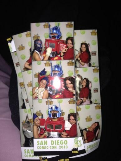 Sarah, Optimus and Aerith