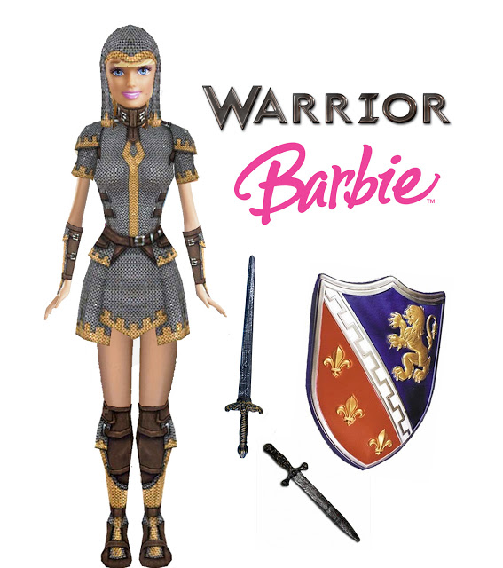 Barbies in an RPG  Nerdy But Flirty