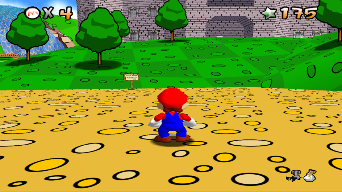 Super Mario 64 HD Textures And Lots Of Fun Nerdy But