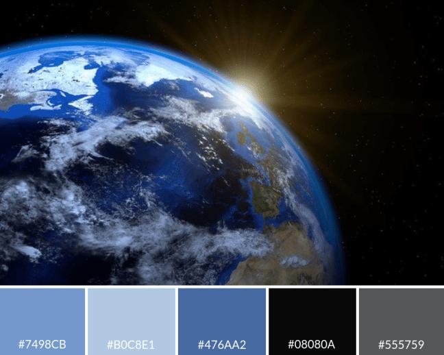 Sarah Honeybee Earth Color Palette