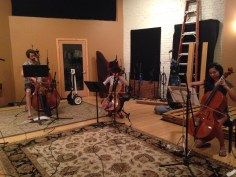 studio crash - strings V
