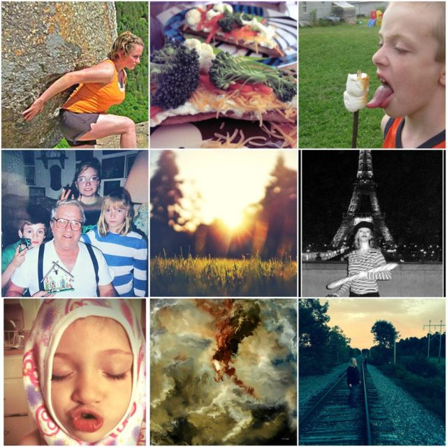 adventure sarah vigue family collage
