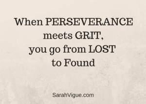 perseverance grit Sarah Vigue