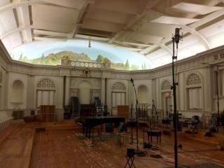 A Masonic Temple turned Music Studio....