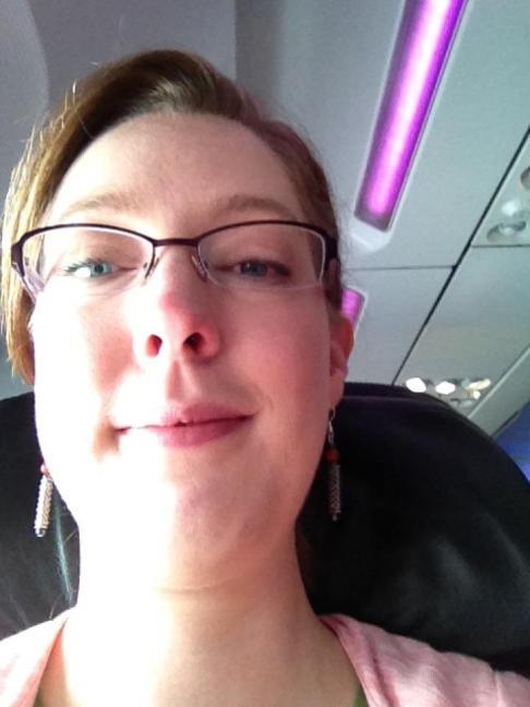"""I'm leaving on a jet plane..."" :)"