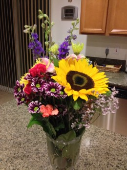Flowers from DRHS.