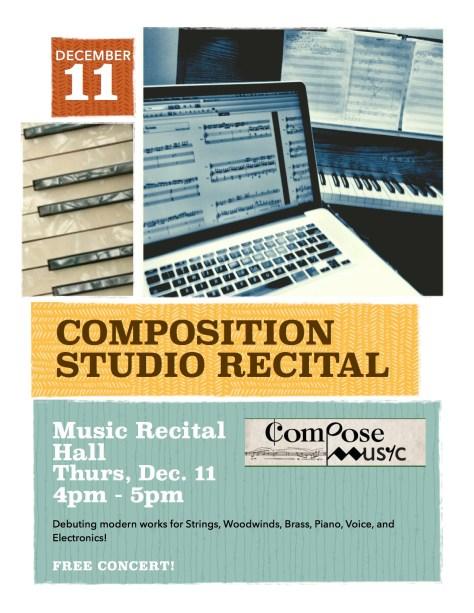 Comp Recital Flyer
