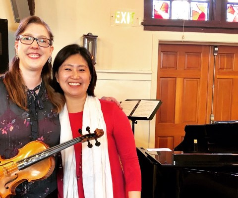 Free Vintage Style Concert for Violin and Piano Next Week!