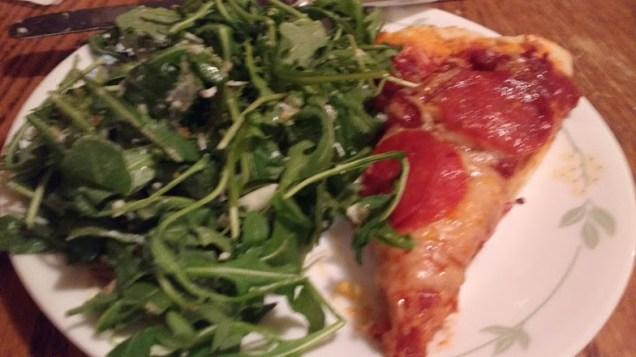 pizza&salad