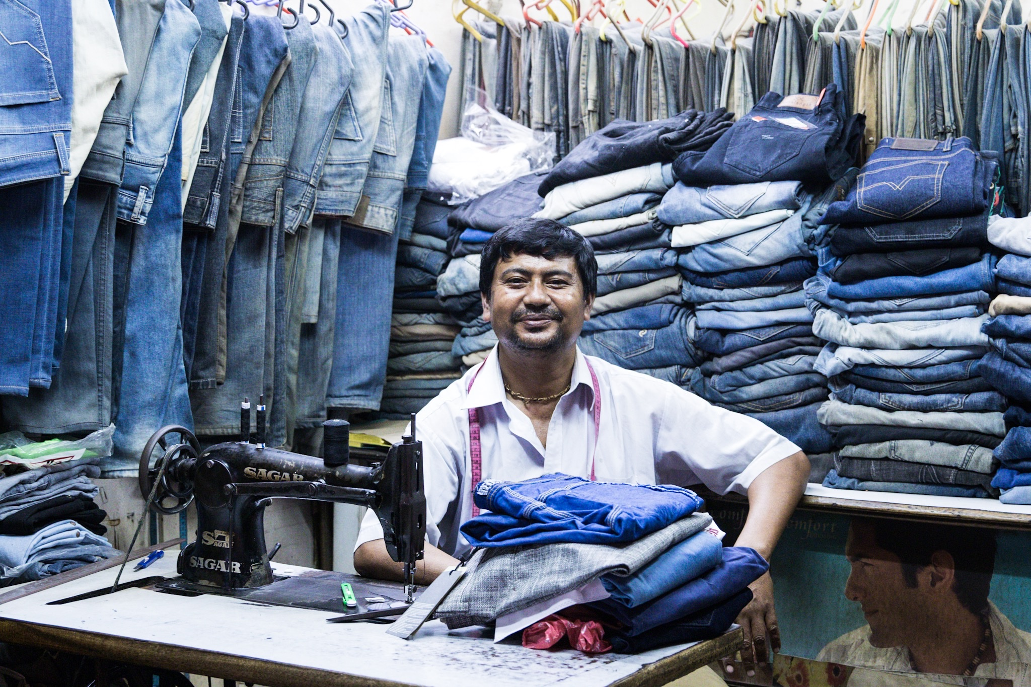 Portrait of a Tailor, Travel Photography Guwahati Assam