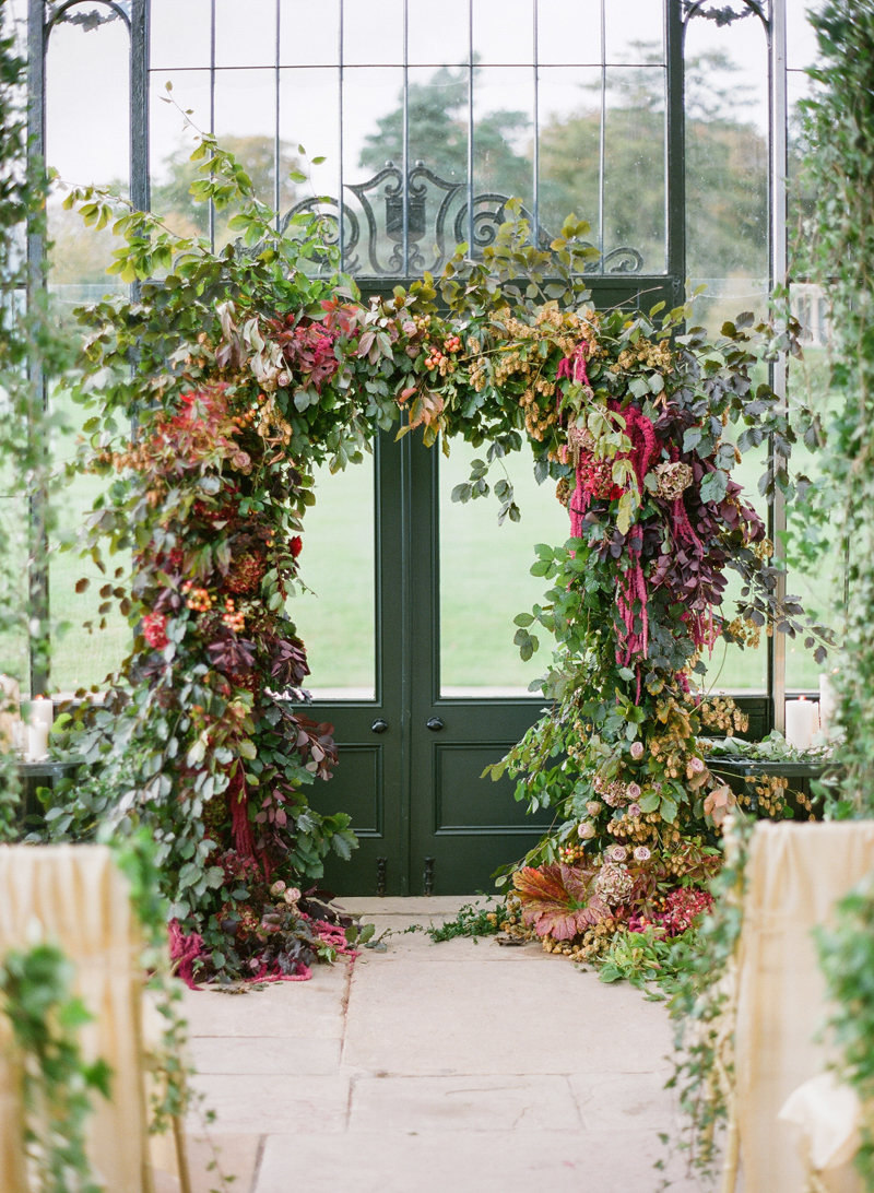 Fall Irish Wedding At Ballyfin House Honey Of A Thousand