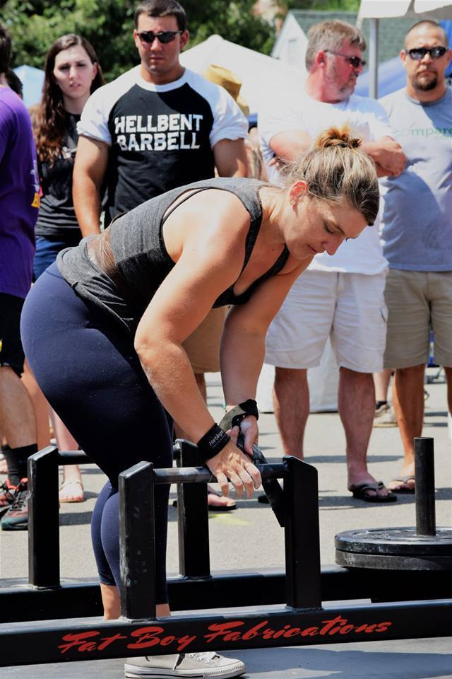 Strongman Competition Frame Deadlift