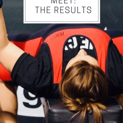 My First Powerlifting Meet: The Results