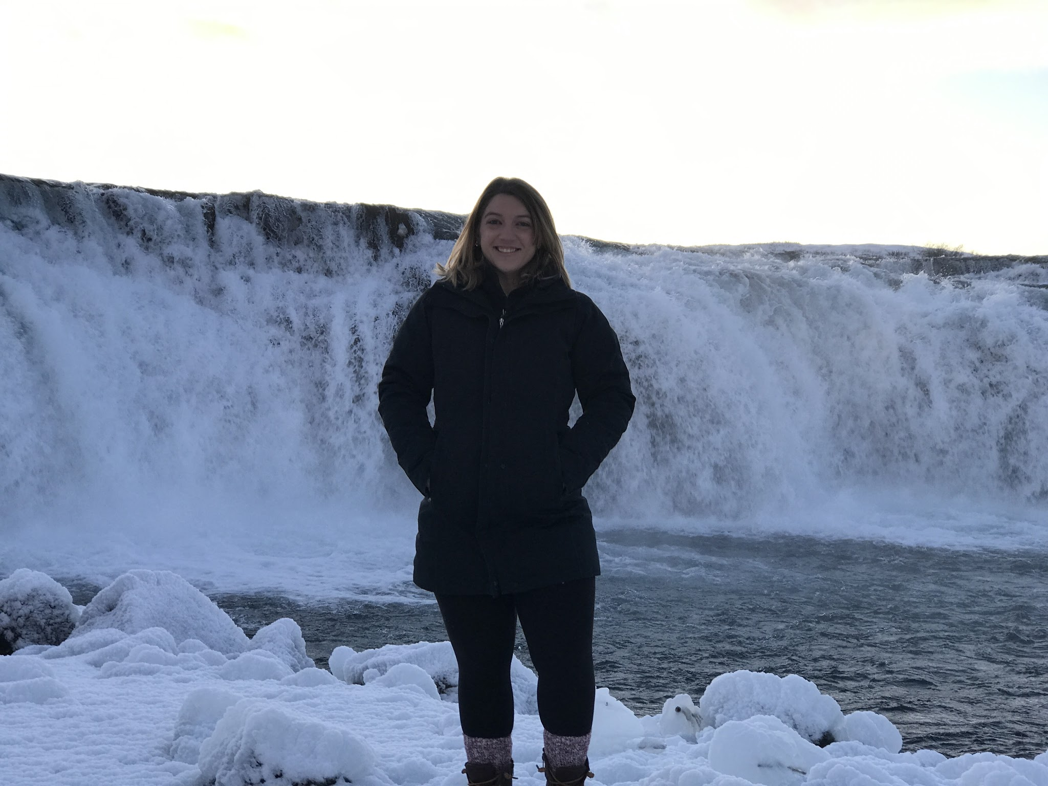 Iceland - Faxi Waterfall