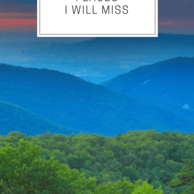 8 Charlottesville Places I will Miss