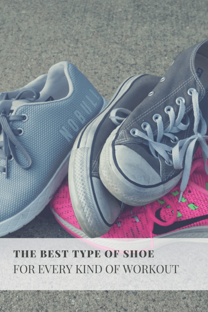 The Best Type of Shoe For Every Workout